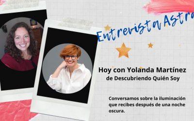 ¿Has pasado por una noche oscura del alma? – Entrevista a Yolanda Martínez
